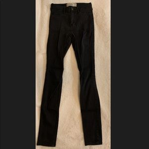 Hollister black jeggings